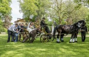 Hochzeits Kutsche