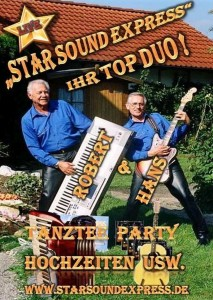 Tanz Café mit Duo Star Sound Express