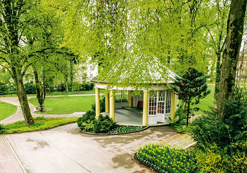 Kurhaus Bad Tölz - Gartenpavillion