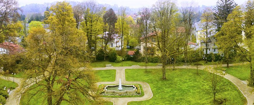 Kurhaus Bad Tölz - Dachterrasse
